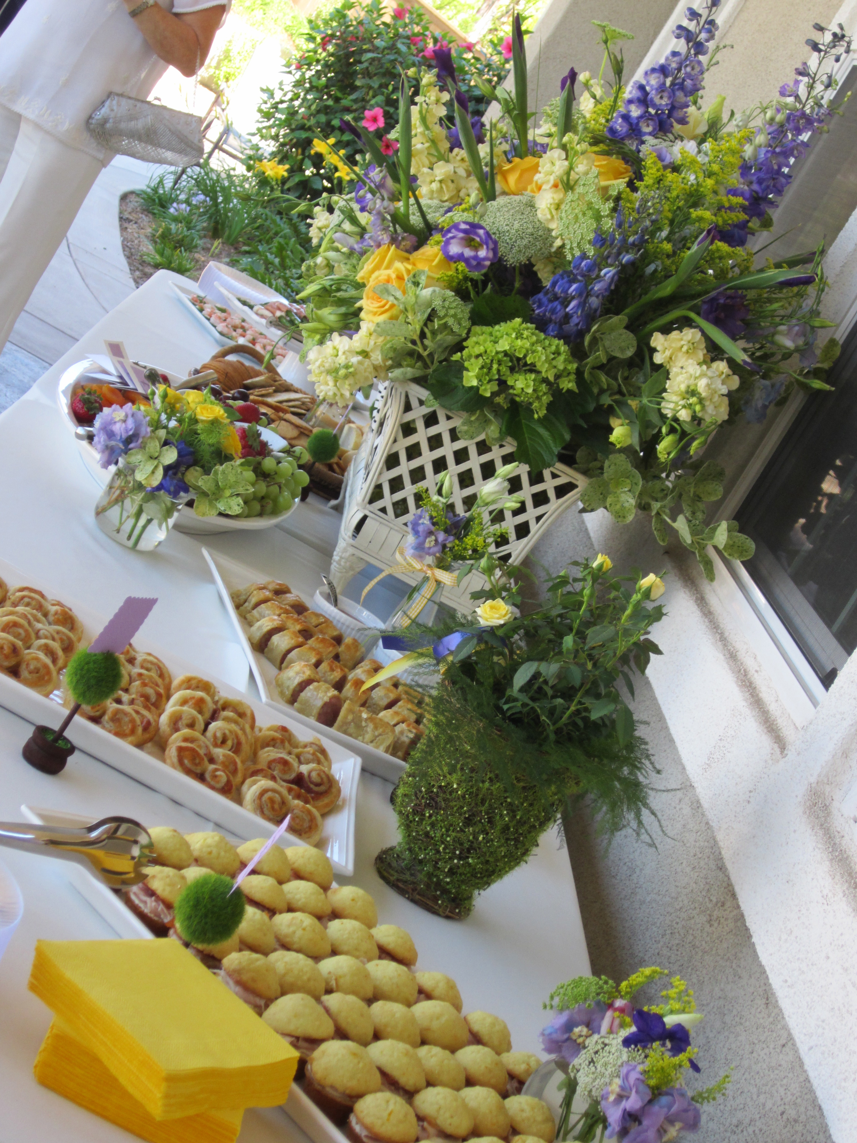 afternoon wedding a sweet affaire